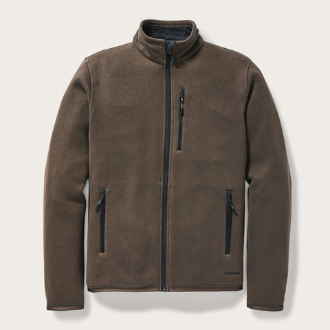 Filson - Ridgeway Dark Brown Fleece Jacket