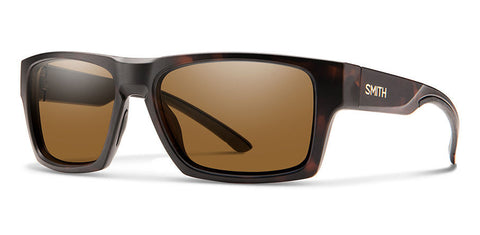 Smith - Outlier 2 Matte Tortoise Sunglasses / Polarized Brown Lenses