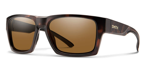 Smith - Outlier XL 2 Matte Tortoise Sunglasses / Polarized Brown Lenses