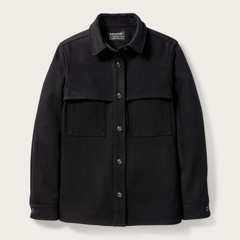 Filson - Women's Black Wool  Jac-Shirt