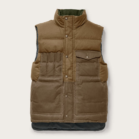 Filson - Down Dark Tan Cruiser Vest