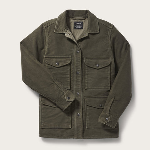 Filson - Women's Olive Point Hope Jac-Shirt