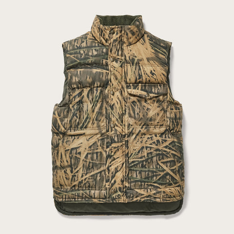 Filson - Mossy Oak Camo Shadow Grass Down Cruiser Vest