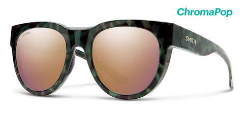 Smith - Crusader Camo Tortoise Sunglasses / ChromaPop Rose Gold Lenses