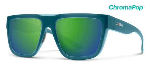 Smith - The Comeback Matte Crystal Deep Forest Sunglasses / ChromaPop Green Mirror Lenses