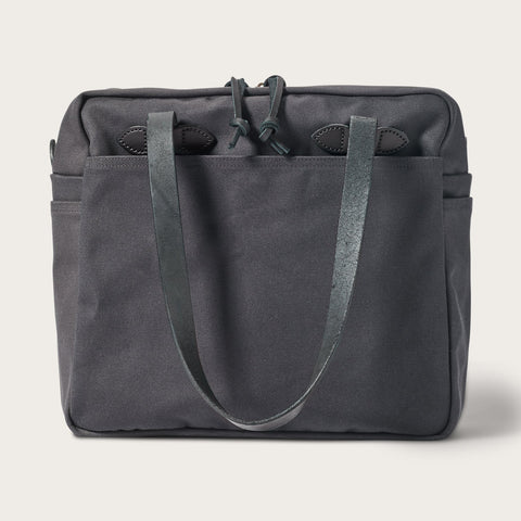 Filson - Rugged Twill Cinder Zipped Tote