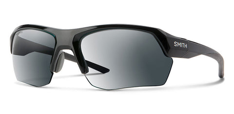 Smith - Tempo Max 65mm Black Sunglasses / Photochromic Clear Gray Gradient + ChromaPop Contrast Rose Lenses