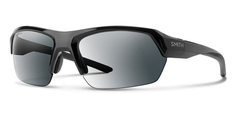 Smith - Tempo 62mm Black Sunglasses / Photochromic Clear Gray Gradient + ChromaPop Contrast Rose Lenses