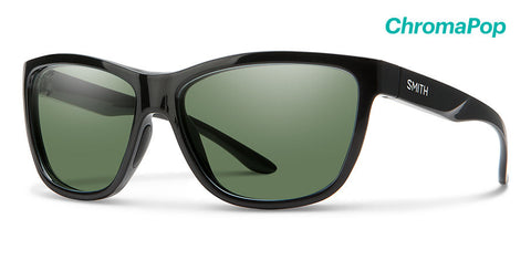 Smith - Eclipse Black Sunglasses / ChromaPop Polarized Gray Green Lenses