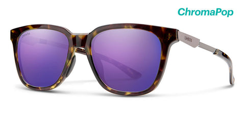 Smith - Roam Vintage Tortoise Sunglasses / ChromaPop Violet Mirror Lenses