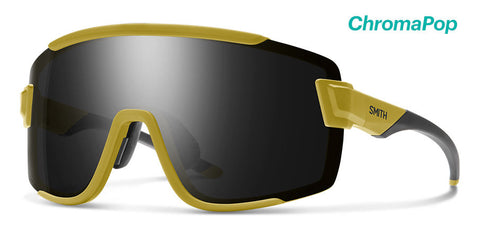 Smith - Wildcat Matte Mystic Green Sunglasses / Chromapop Black + Clear Lenses