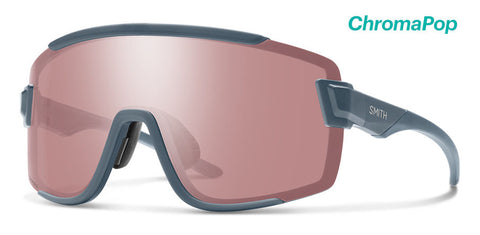 Smith - Wildcat Matte Iron Sunglasses / Chromapop Ignitor + Clear Lenses