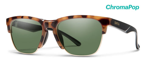 Smith - Haywire Honey Tortoise Sunglasses / ChromaPop Gray Green Lenses