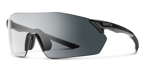 Smith - Reverb 135mm Black Sunglasses / Photochromic Clear Gray Gradient + ChromaPop Contrast Rose Lenses