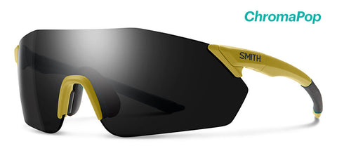 Smith - Reverb Matte Mystic Green Sunglasses / Chromapop Black + Chromapop Contrast Rose Lenses