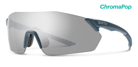 Smith - Reverb Matte Iron Sunglasses / Chromapop Platinum + Chromapop Contrast Rose Lenses