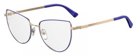 Moschino - Mos 534 Blue Eyeglasses / Demo Lenses