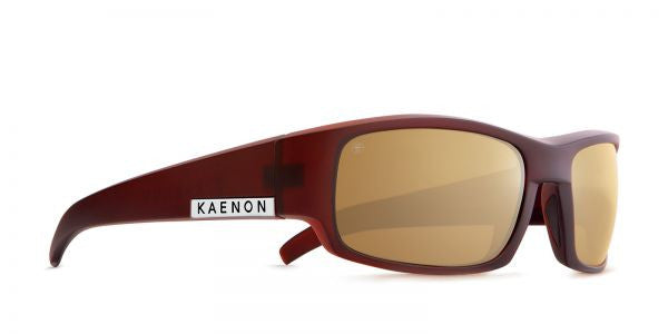 Kaenon - Arlo Gold Coast Sunglasses, B12 Brown-Gold Mirror Lenses