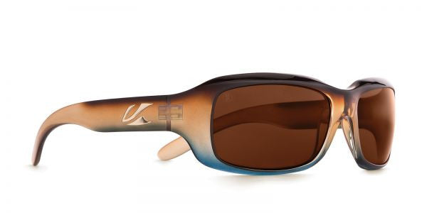 Kaenon - Bolsa Tobacco Denim Sunglasses, C12 Copper Lenses