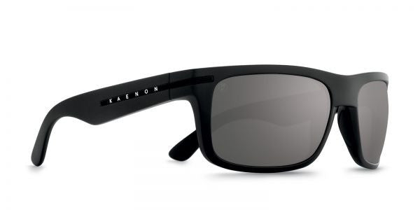 Kaenon - Burnet Black Label Sunglasses, G12 Grey-Black Mirror Lenses