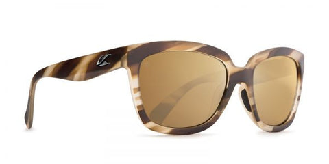 Kaenon - Cali Driftwood Sunglasses, B12 Brown-Gold Mirror Lenses