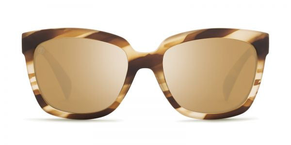 Kaenon Cali Driftwood Sunglasses, B12 Brown-Gold Mirror Lenses