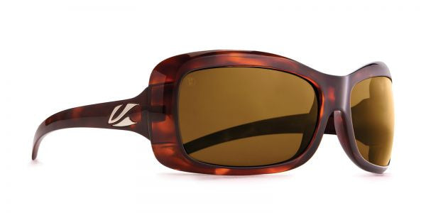 Kaenon - Georgia Tortoise Sunglasses, B12 Brown Lenses