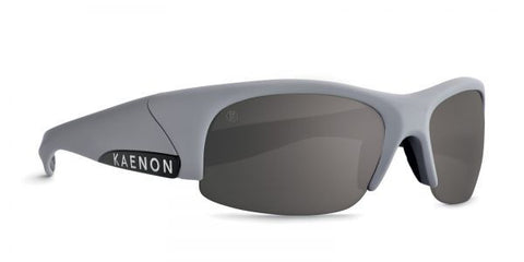 Kaenon - Hard Kore Matte Grey/Black Sunglasses, G12 Grey-Black Mirror Lenses
