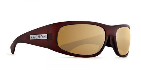 Kaenon - Lewi Gold Coast Sunglasses, B12 Brown-Gold Mirror Lenses