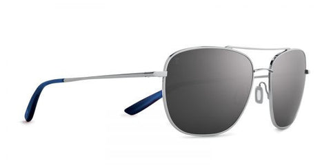 Kaenon - Miramar Chrome Sunglasses, G12 Grey-Black Mirror Lenses