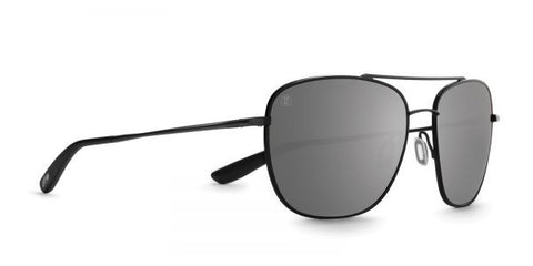 Kaenon - Miramar Matte Black Sunglasses, G12 Grey-Black Mirror Lenses