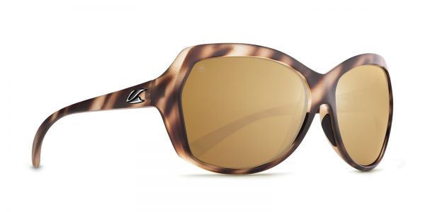 Kaenon - Shilo Driftwood Sunglasses, B12 Brown- Gold Mirror Lenses