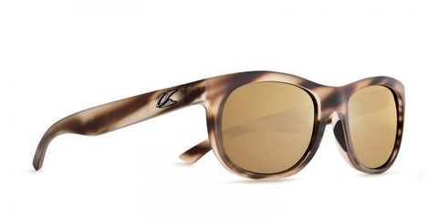 Kaenon - Stinson Driftwood Sunglasses, B12 Brown-Gold Mirror Lenses