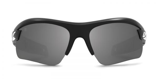 Kaenon - X-Kore Matte Black/White Sunglasses, G12 Grey-Black Mirror Lenses