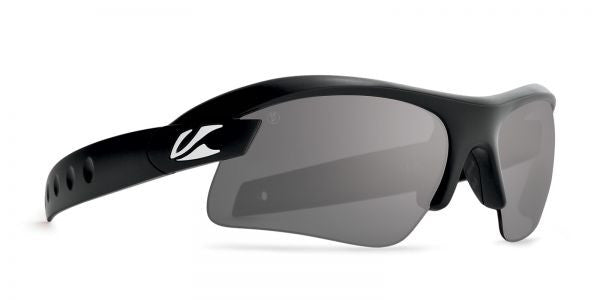 Kaenon - X-Kore Matte Black Sunglasses, G28 Grey-Black Mirror Lenses