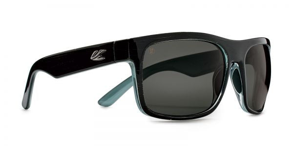 Kaenon - Burnet XL Blackwash G12 Sunglasses, G12 Grey Lenses