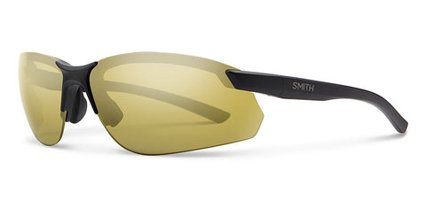 Smith - Parallel Max 2 Matte Black Sunglasses / Polarized Gold Mirror Lenses
