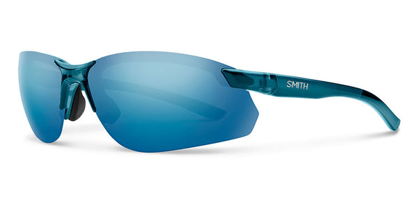 982d28e4ad Smith - Parallel Max 2 Crystal Mediterranean Sunglasses   Polarized Blue  Mirror Lenses