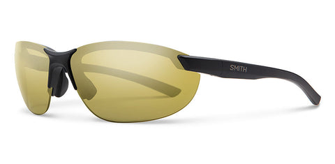 Smith - Parallel 2 Matte Black Sunglasses / Polarized Gold Mirror Lenses