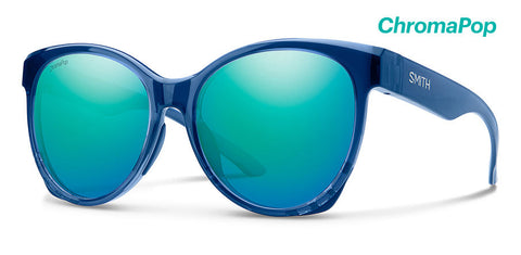 Smith - Fairground Sapphire Sunglasses / ChromaPop Opal Mirror Lenses