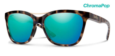 Smith - Cavalier Violet Tortoise Sunglasses / ChromaPop Opal Mirror Lenses