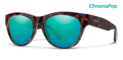 Smith - Sophisticate Violet Tortoise Sunglasses / ChromaPop Opal Mirror Lenses