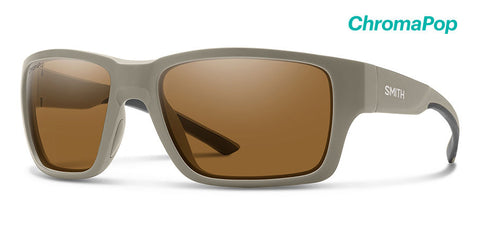 Smith - Outback Elite Tan 499 Sunglasses / ChromaPop Plus Elite Polarized Bronze Mirror Lenses
