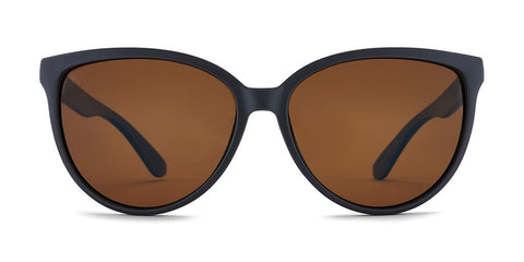 Kaenon - Colusa 59mm Matte Black Sunglasses / Brown 12 Polarized Lenses