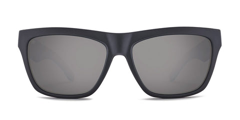 Kaenon - Ladera 56mm Matte Black Sunglasses / Grey 12 Black Mirror Polarized Lenses
