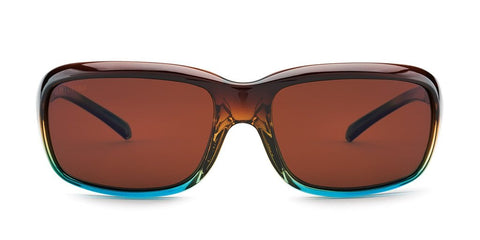Kaenon - Monterey 56mm Tobacco Denim Sunglasses / Ultra Brown 12 Polarized Lenses