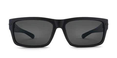 Kaenon - Silverado 56mm Matte Black Sunglasses / Grey 12 Polarized Lenses