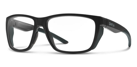Smith - Longfin Elite Matte Black Sunglasses / Clear Lenses