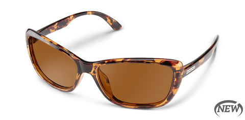 Suncloud - Throwback Tortoise Sunglasses / Polarized Brown Lenses