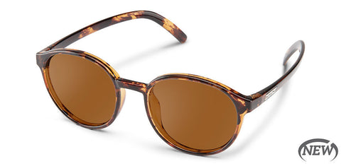 Suncloud - Low Key Tortoise Sunglasses / Polarized Brown Lenses
